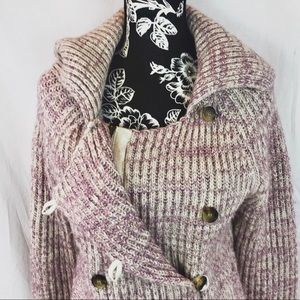 American Eagle cardigan in lilac sz  L